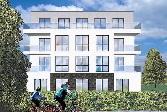 Das Neubauprojekt Schüchtermannstraße von Weidenbach Immobilien Herne