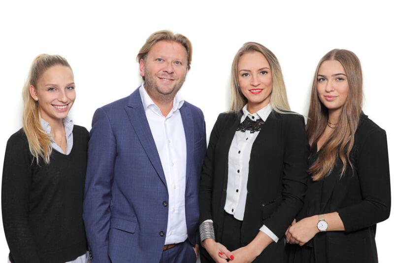 Das Team von Weidenbach Immobilien freut sich auf Sie
