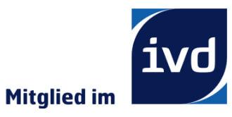 Logo der IVD-Mitgliedschaft