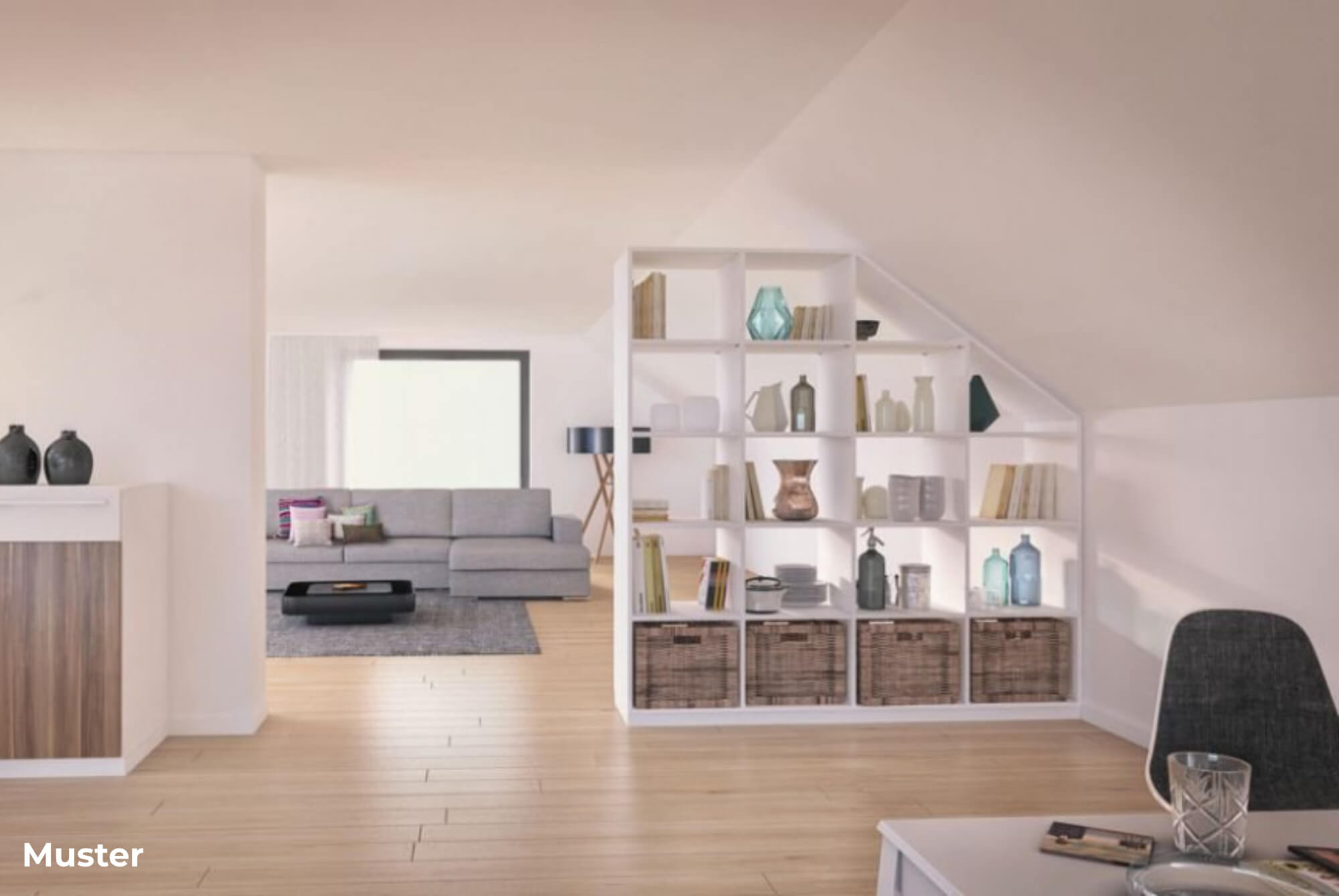 Dies könnte Ihr neues Zuhause sein – Neu ausgebaute Dachgeschosswohnung in Hagen!