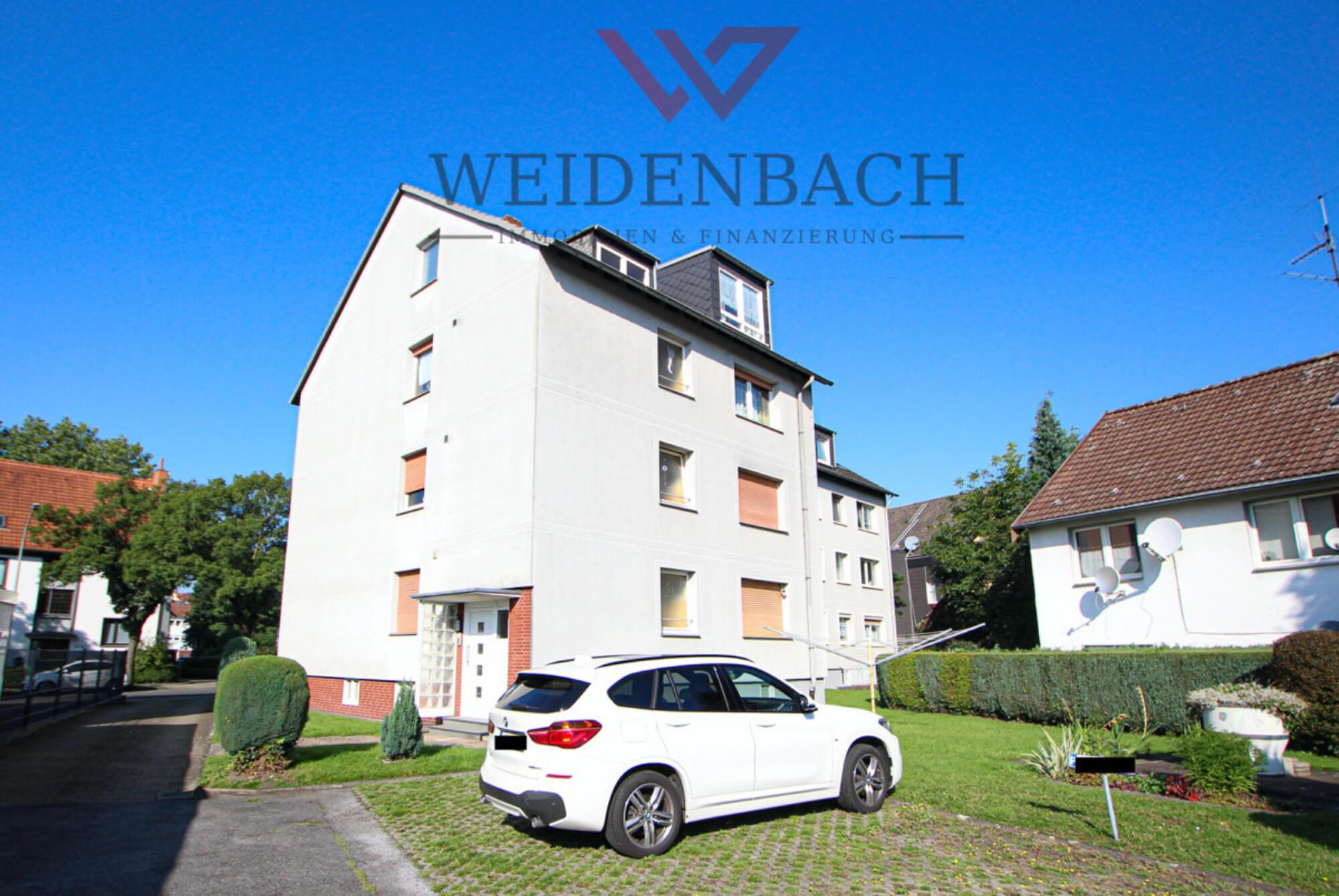 Helle Balkonwohnung mit 3 Zimmern und Stellplatz in Herne!